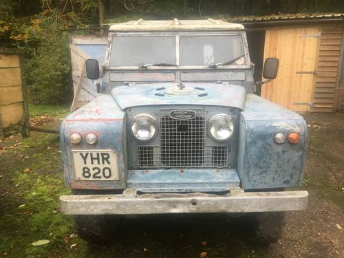 1961 Land Rover Series 2 II 88 SOLD (picture 1 of 6)