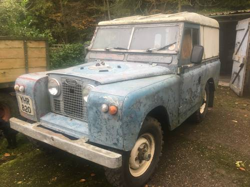 1961 Land Rover Series 2 II 88 SOLD (picture 2 of 6)