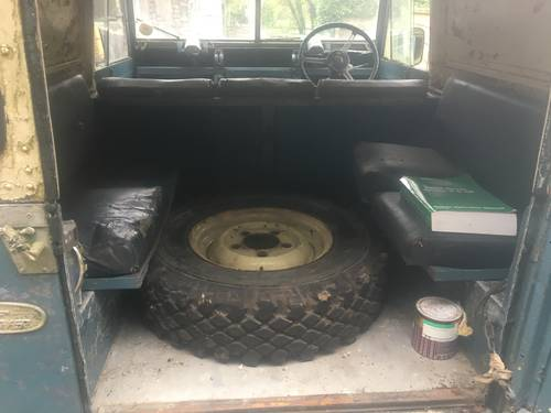 1961 Land Rover Series 2 II 88 SOLD (picture 5 of 6)