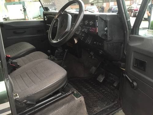 1993 LAND ROVER 90 200 TDI COUNTY STATION WAGON For Sale (picture 5 of 6)