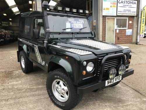 1996 land rover Defender 90 300 tdi county hard top For Sale (picture 1 of 5)