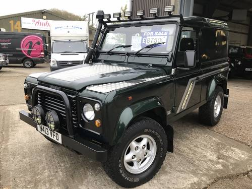 1996 land rover Defender 90 300 tdi county hard top For Sale (picture 2 of 5)