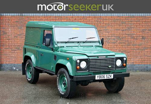 2006 Land Rover Defender Td5, last of the TD5! For Sale (picture 1 of 6)