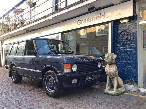 1993 Range Rover Classic Vogue - Restored Condition For Sale (picture 1 of 6)
