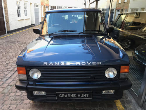 1993 Range Rover Classic Vogue - Restored Condition For Sale (picture 6 of 6)