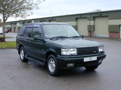 2000 RANGE ROVER P38 4.6 HSE RHD - COLLECTOR QUALITY - CHOICE! For Sale (picture 1 of 6)