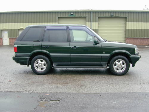 2000 RANGE ROVER P38 4.6 HSE RHD - COLLECTOR QUALITY - CHOICE! For Sale (picture 2 of 6)