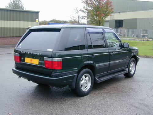 2000 RANGE ROVER P38 4.6 HSE RHD - COLLECTOR QUALITY - CHOICE! For Sale (picture 3 of 6)
