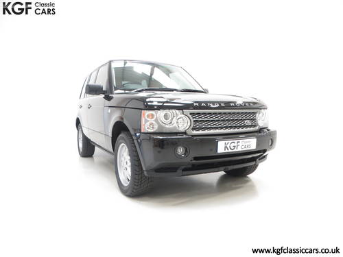 2006 A Near Perfect Range Rover TD6 Vogue SE with 16,589 Miles SOLD (picture 1 of 6)