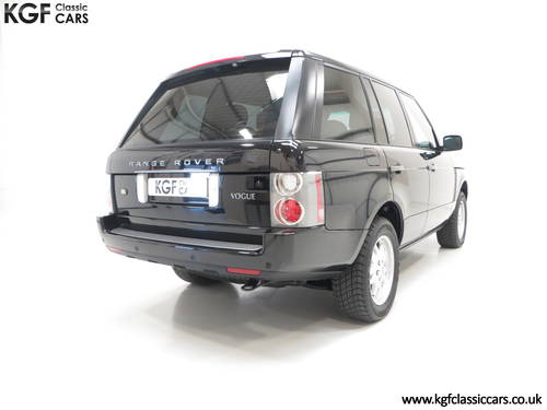 2006 A Near Perfect Range Rover TD6 Vogue SE with 16,589 Miles SOLD (picture 5 of 6)