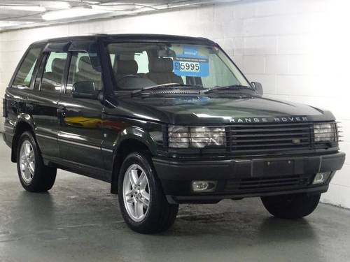 2002 Land Rover Range Rover 4.6 HSE ROYAL EDITION LTD EDN Auto 5d For Sale (picture 1 of 6)
