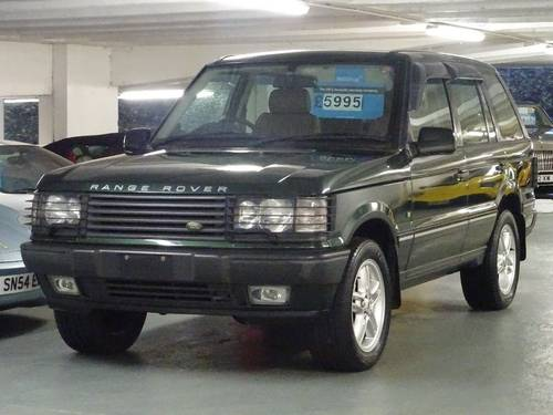 2002 Land Rover Range Rover 4.6 HSE ROYAL EDITION LTD EDN Auto 5d For Sale (picture 2 of 6)