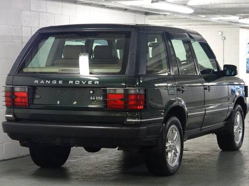 2002 Land Rover Range Rover 4.6 HSE ROYAL EDITION LTD EDN Auto 5d For Sale (picture 4 of 6)