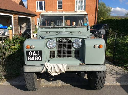 1968 Land Rover Series 2A Fully Restored 3.9 V8 For Sale (picture 3 of 6)