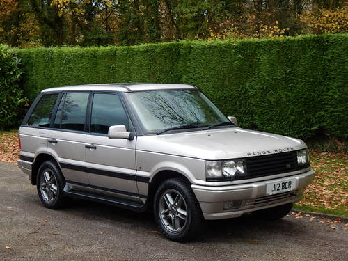 2002 Range Rover P38 Westminster limited Edition 4.0 V8 SOLD (picture 1 of 6)