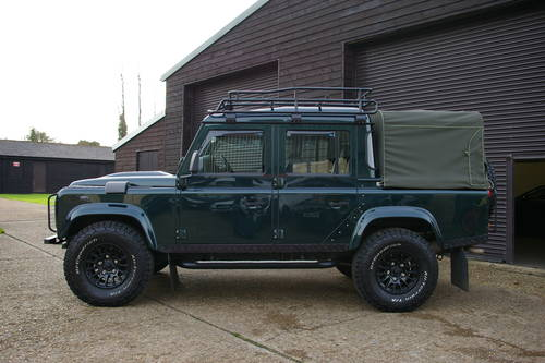 2014 Land Rover Defender 110 2.2 TD XS Double Cab  SOLD (picture 1 of 6)