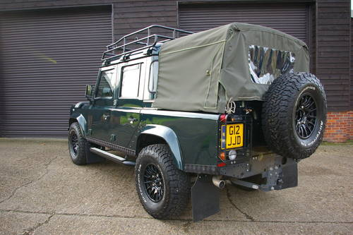 2014 Land Rover Defender 110 2.2 TD XS Double Cab  SOLD (picture 3 of 6)