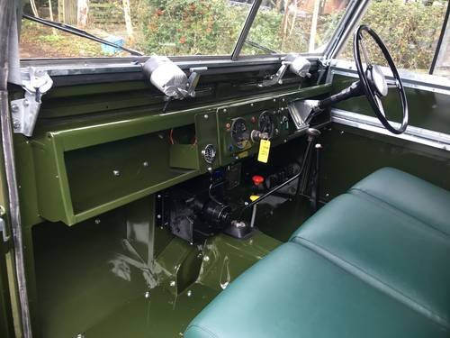 1958 Land Rover restoration services  (picture 4 of 6)