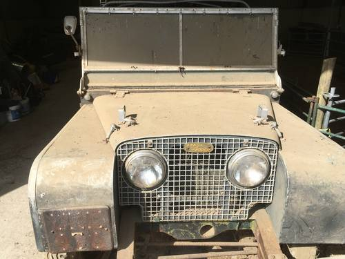 1950 LAND ROVER SERIES 1 - UNIQUE TRUE ONE OFF!  For Sale (picture 1 of 6)
