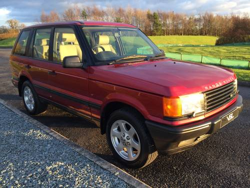 1998 Range Rover 2.5 D SE BMW 6 Cyl Turbo Diesel 4x4 For Sale (picture 1 of 6)