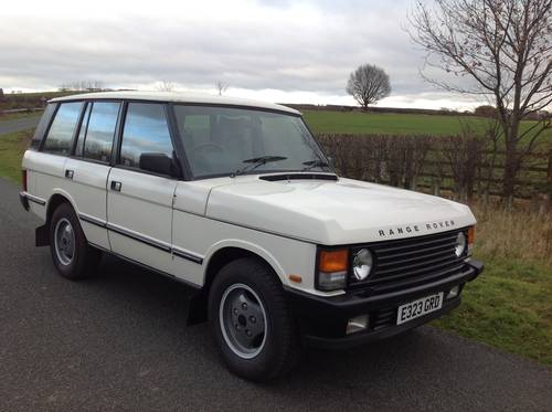1988 LAND ROVER RANGE ROVER VOGUE EFI AUTO 3.5 V8 LOW MILEAGE For Sale (picture 1 of 6)