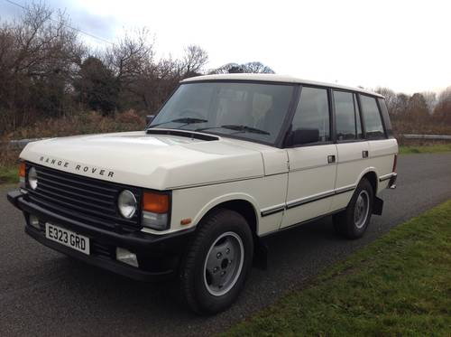 1988 LAND ROVER RANGE ROVER VOGUE EFI AUTO 3.5 V8 LOW MILEAGE For Sale (picture 2 of 6)