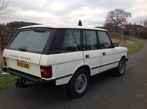 1988 LAND ROVER RANGE ROVER VOGUE EFI AUTO 3.5 V8 LOW MILEAGE For Sale (picture 3 of 6)