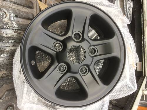 1990 Classic Land Rover Wheel Restoration - Tudor Wheels Ltd For Sale (picture 1 of 2)