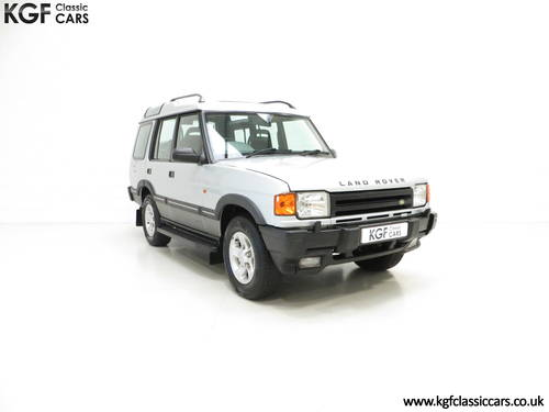 1998 A Fabulous Land Rover Discovery XS 300Tdi Series One SOLD (picture 1 of 6)