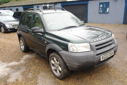 2003 Bargain £400. Land Rover Freelander Td4 ES Premium. Auto. SOLD (picture 1 of 6)