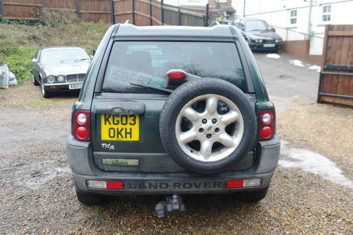2003 Bargain £400. Land Rover Freelander Td4 ES Premium. Auto. SOLD (picture 5 of 6)