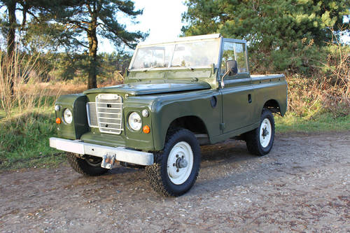 Land Rover Series III 1978 - galvanised chassis For Sale (picture 1 of 6)