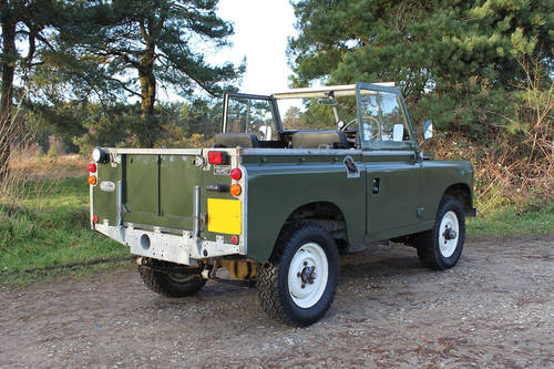 Land Rover Series III 1978 - galvanised chassis For Sale (picture 2 of 6)