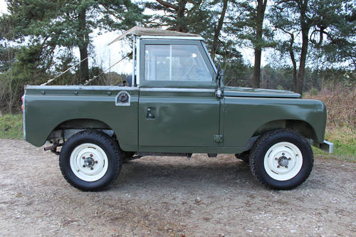 Land Rover Series III 1978 - galvanised chassis For Sale (picture 3 of 6)