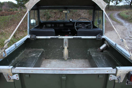 Land Rover Series III 1978 - galvanised chassis For Sale (picture 4 of 6)