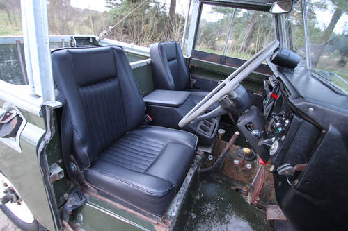 Land Rover Series III 1978 - galvanised chassis For Sale (picture 5 of 6)
