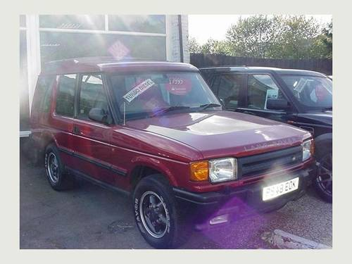 1996 Land Rover Discovery 2.5 TDI. RARE THREE DOOR  For Sale (picture 1 of 6)