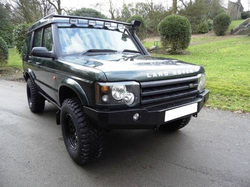 2003 2004 LAND ROVER DISCOVERY II TD5 MANUAL OFF ROADER For Sale (picture 1 of 6)