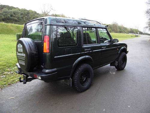 2003 2004 LAND ROVER DISCOVERY II TD5 MANUAL OFF ROADER For Sale (picture 2 of 6)