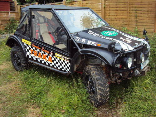 range rover treker 3.9 v8 twin winches swap up down w.h.y ? For Sale (picture 1 of 6)