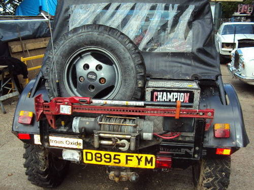 range rover treker 3.9 v8 twin winches swap up down w.h.y ? For Sale (picture 4 of 6)