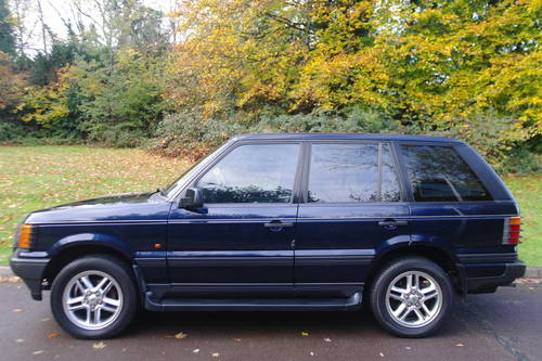 RANGE ROVER P38.. RARE MANUAL 2.5 DSE.. LOVELY SPEC.. FSH SOLD (picture 1 of 4)