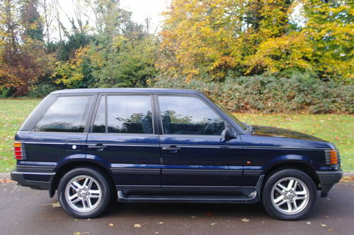 RANGE ROVER P38.. RARE MANUAL 2.5 DSE.. LOVELY SPEC.. FSH SOLD (picture 4 of 4)