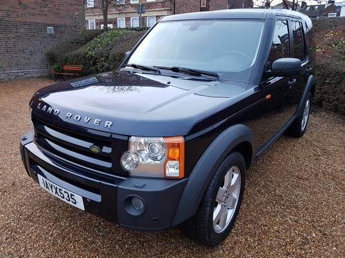 2007 LHD Land Rover Discovery 3 2.7TD V6 LEFT HAND DRIVE For Sale (picture 1 of 6)