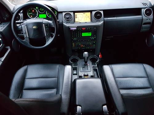 2007 LHD Land Rover Discovery 3 2.7TD V6 LEFT HAND DRIVE For Sale (picture 4 of 6)