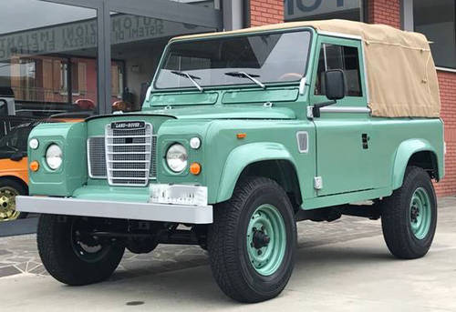 1993 Land Rover Defender 90 200tdi 88series 3 SOLD   Car And Classic