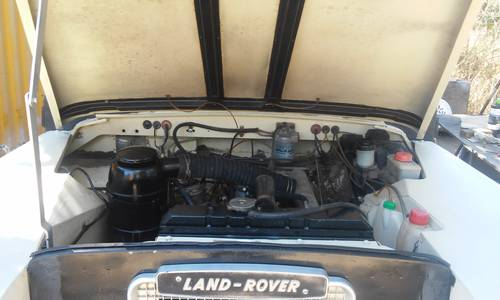 Classic Land Rover 109 Diesel Series III 4x4 1981 For Sale (picture 5 of 6)