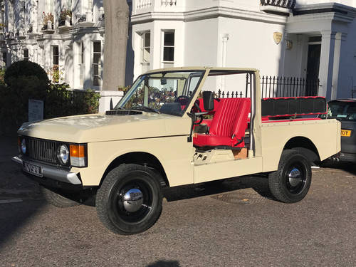 1972 Range Rover Suffix 'A' Convertible LHD SOLD (picture 1 of 6)