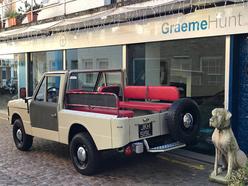 1972 Range Rover Suffix 'A' Convertible LHD SOLD (picture 2 of 6)