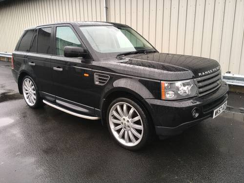2008 RANGE ROVER SPORT 2.7 TDV6 SE AUTO WITH OVERFINCH ALLOYS SOLD (picture 1 of 6)